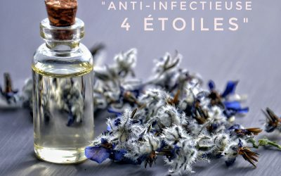 L'HUILE ESSENTIELLE ANTI-INFECTIEUSE 4 ETOILES